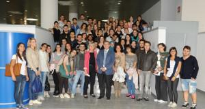 Gruppo studenti con Zulian e Croso